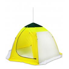 """Трехместная палатка """"Медведь"""" 6 лучей верх брезент"""