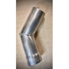 Труба уголок развальцованная, диаметром 50 мм алюминиевая для теплообменников